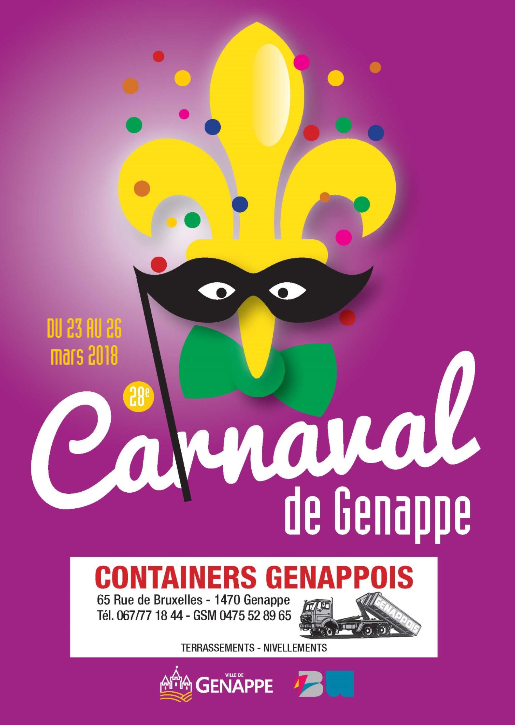 Image principale Carnaval de Genappe